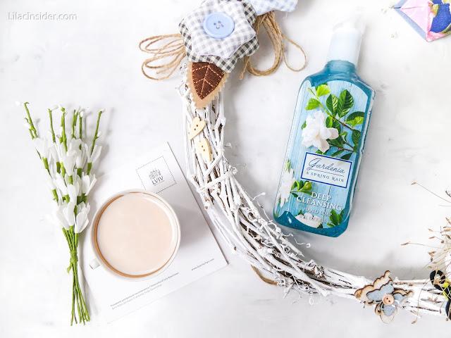 Глубоко очищающее мыло Gardenia & Spring Rain от Bath And Body Works