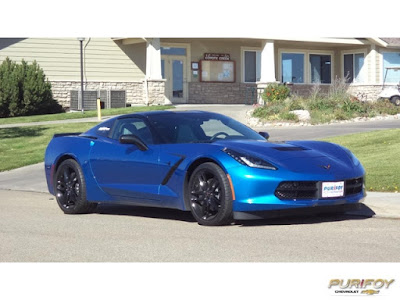 2016 Corvette Stingray at Purifoy Chevrolet