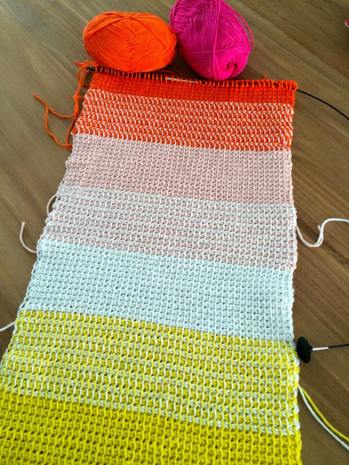 De Ligny Creations Voorjaarssjaal In De Ban Van Het Tunisch Haken