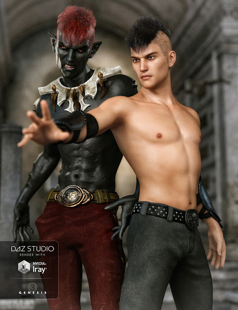 FW Aran HD for Genesis 3 Male