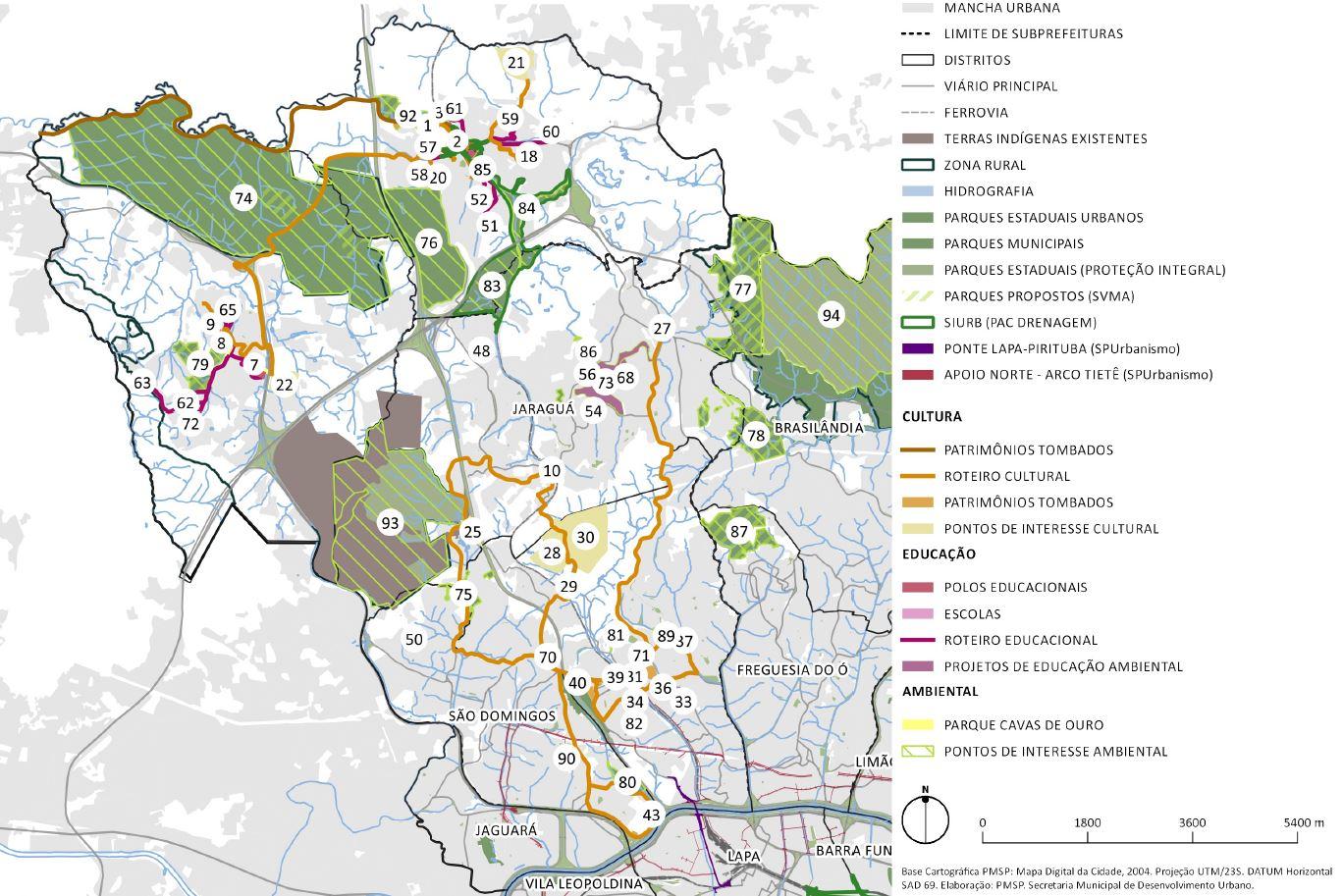 Mapa 2: TICP-PJ (2016). Fonte: Prefeitura de São Paulo