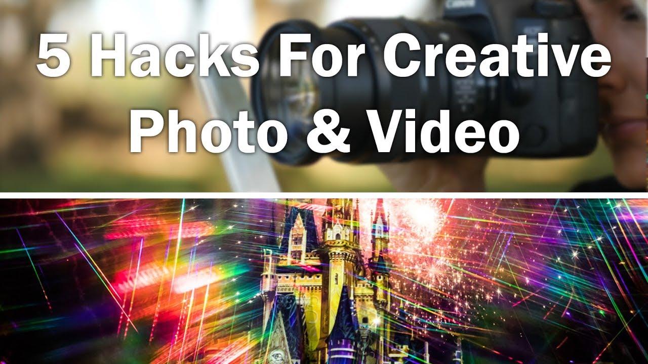 5 Camera Hacks For Creative Photos & Videos