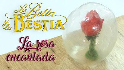 Rosa encantada de la bella y la bestia receta
