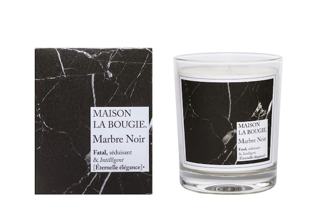 Avis Marbre Noir de Maison La Bougie, blog bougie, blog parfum, blog beauté
