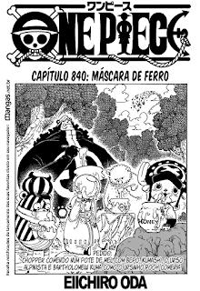 One Piece 840 Mangá Online leitura online