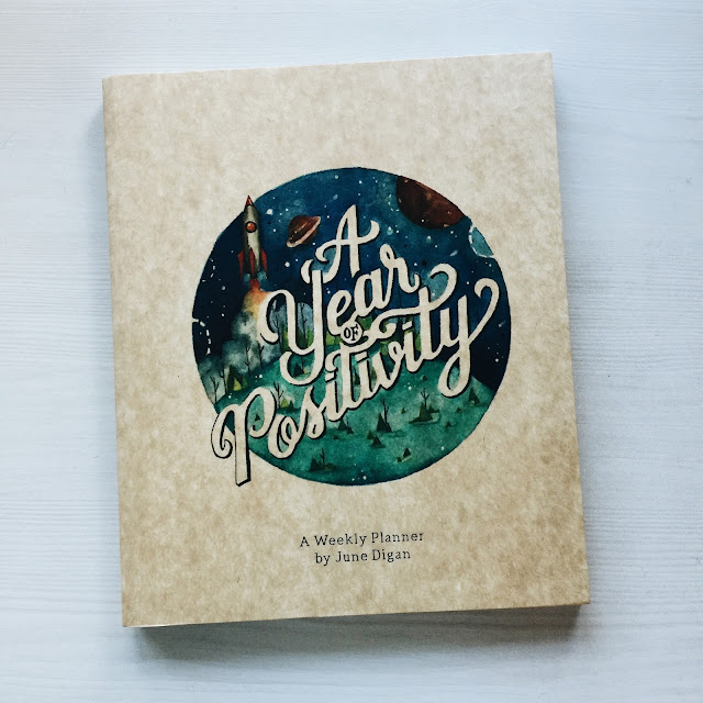 January Giveaway | A Year of Postivity Weekly Planner | Awesome in Manila