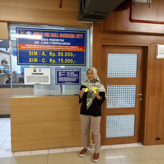Gerai Samsat Mall Gandaria City