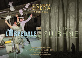 Mad King Suibhne (Noah Mosley) & L'Ospedale (anon) at Bury Court Opera