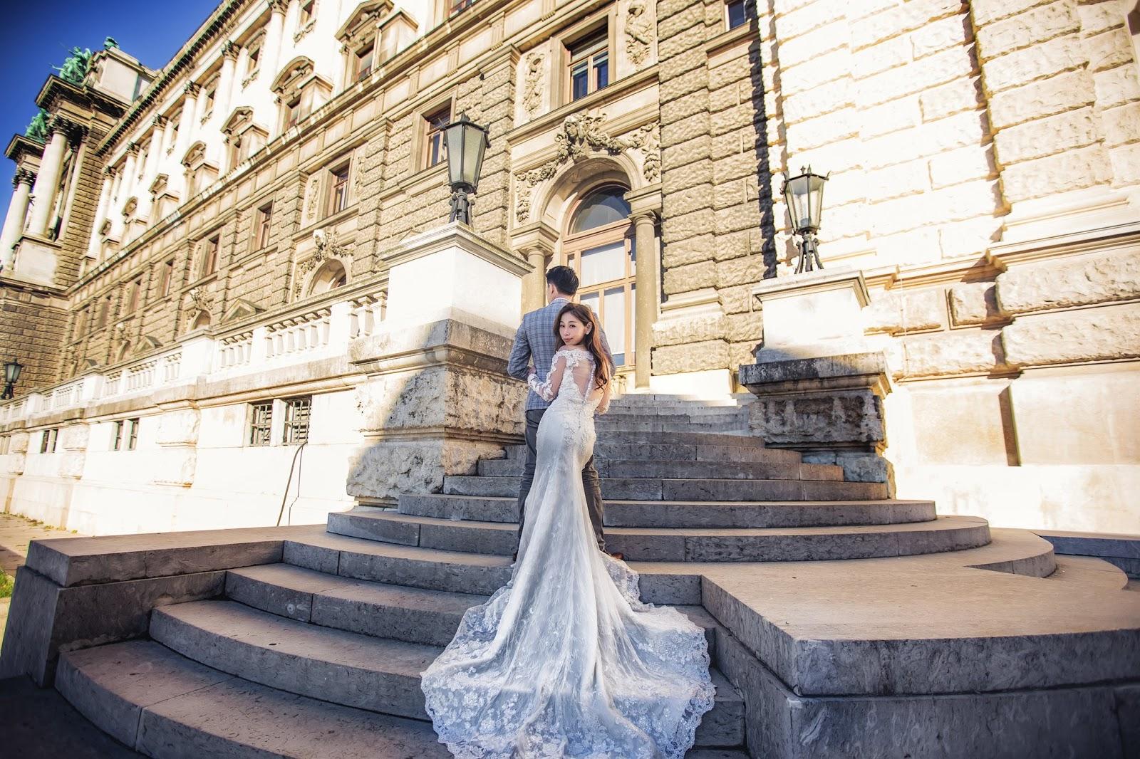 維也納婚紗 wien Vienna 奧地利 海外婚紗 布拉格PRAGUE婚紗 哈爾施塔特 世界最美的小鎮 法國巴黎麵包 威尼斯水都自助遊 婚攝小布哥 維也納必吃豬肋排 教堂婚紗