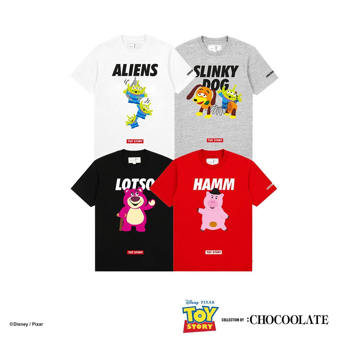 :CHOCOOLATE:Toy Story 聯乘系列 6月21日發售 ( Jetso Club 著數俱樂部 )