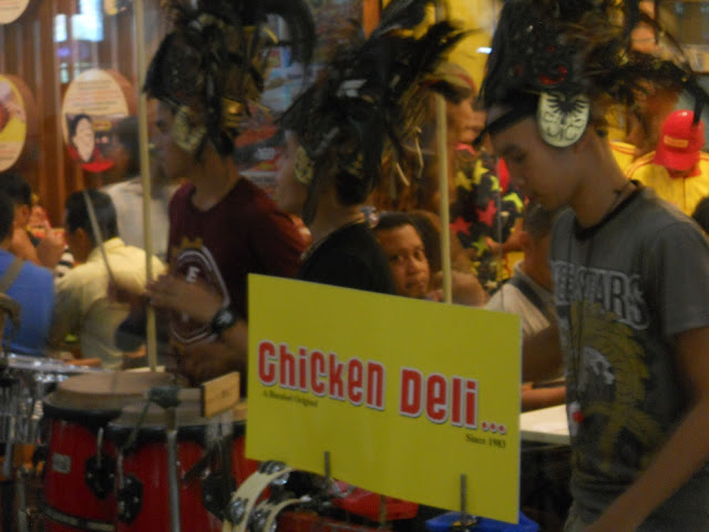 performers at Chicken Deli
