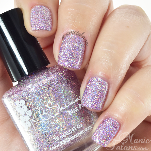 KBShimmer Things That Make You Go Bloom Swatch
