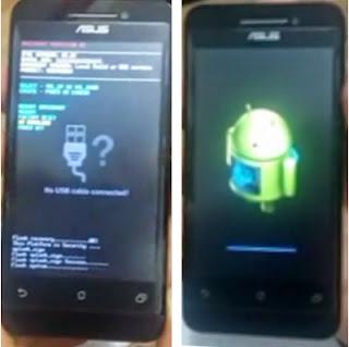 Tutorial Cara Mudah Flashing Instal Firmware ROM Asus Zenfone 4