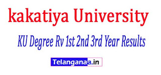 KU Degree Supply Revaluation 1st 2nd 3rd Year Results 2017