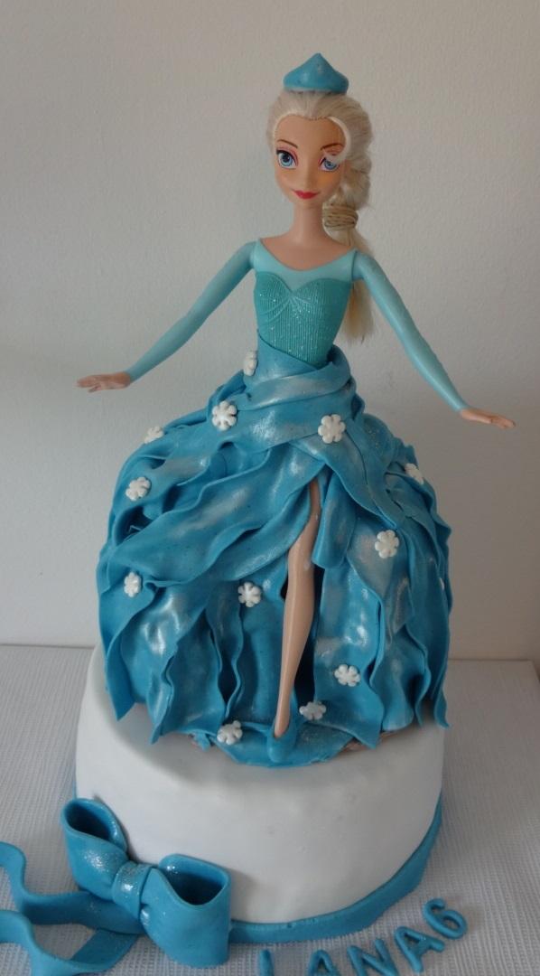Gâteau Danniversaire Frozen La Reine Des Neiges Gâteau D