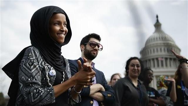 Democrats slam President Donald Trump for attacking Muslim congresswoman Ilhan Omar