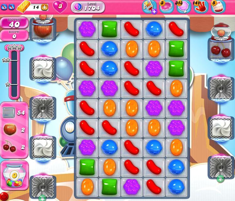 Candy Crush Saga 1704