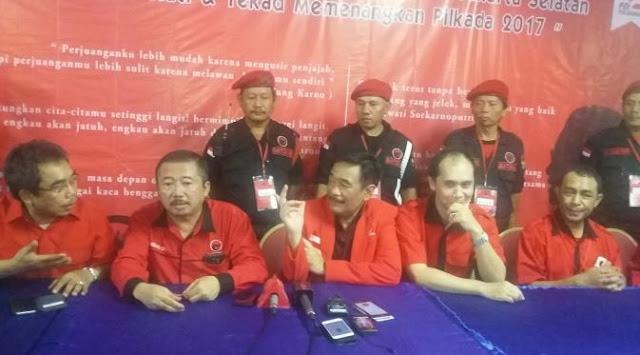 Megawati Dukung Ahok, PDIP DKI: Jika Ahok-Djarot Sudah Keputusan Partai, Kami Tunduk