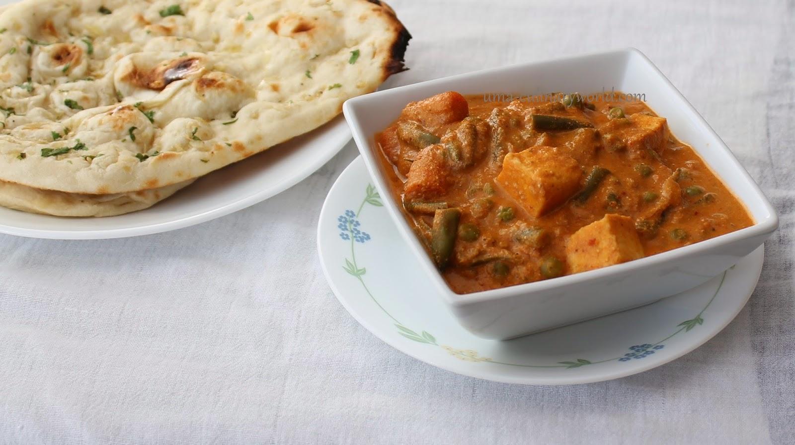 Uma's Culinary World: Indian Navratan Kurma