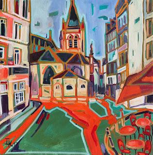 Paris por Isabelle de Kergal.
