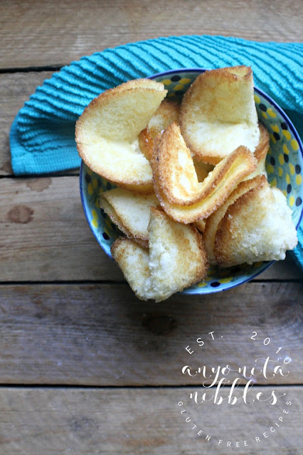 Bowl of gluten free fortune cookies