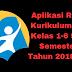 Aplikasi Raport Kurikulum 2013 Kelas 1-6 SD/MI Semester 1 Tahun 2018/2019 - Ruang Lingkup Guru
