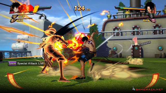 One Piece Burning Blood Gameplay Screenshot 2