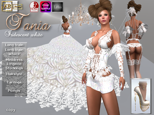 https://marketplace.secondlife.com/p/EB-Atelier-TANIA-Wedding-dress-white-iridescent-Pumps-w-OMEGA-SLINK-Lolas-italian-designer/9199092