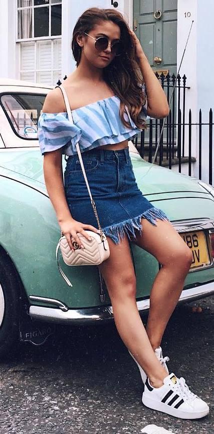trendy summer ootd