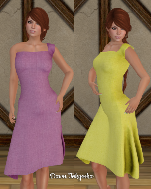 cfb54d072c67 This cute Kelly Dress has 5 color options via the HUD, and is short enough  that it would work well with capris beneath as a long shirt if you prefer.