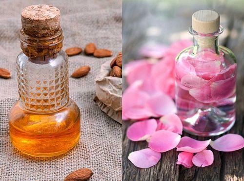 Sử dụng nước hoa hồng giúp mất bọng mắt và da đẹp mịn màng