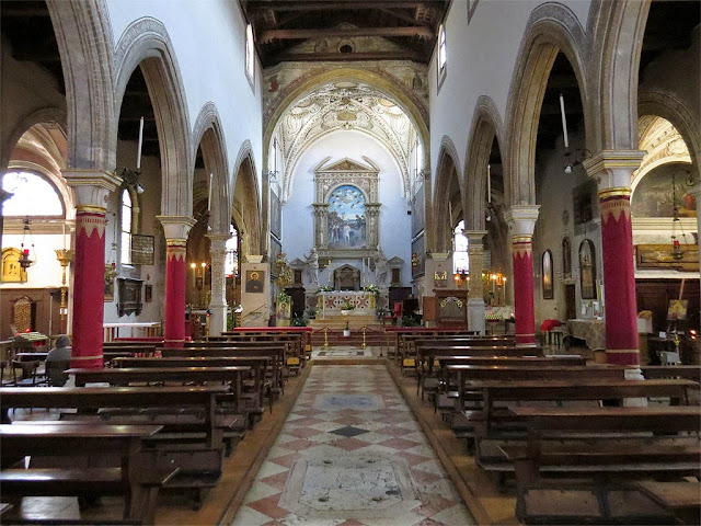 Interior of the church of San Giovanni in Bragora, Campo Bandiera e Moro, Castello, Venice