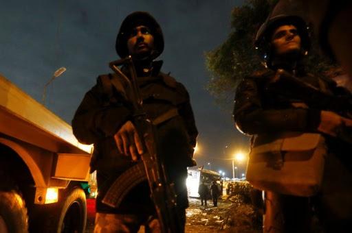 Golpe al terrorismo en Egipto: 40 presuntos terroristas abatidos