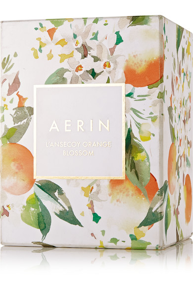 revue bougie Ansecoy Orange Blossom de Aerin Beauty