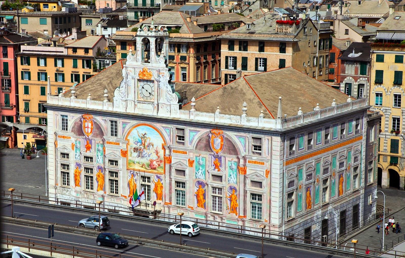 El Poder del Arte: El Palacio San Jorje en Génova