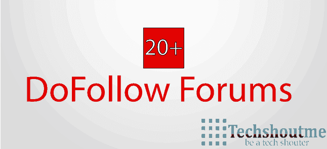DoFollow Forum list