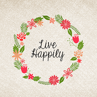 FREE live happily WALLPAPER