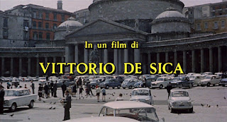 Pictures of Piazza del Plebiscito accompanied the  opening credits for Marriage, Italian Style