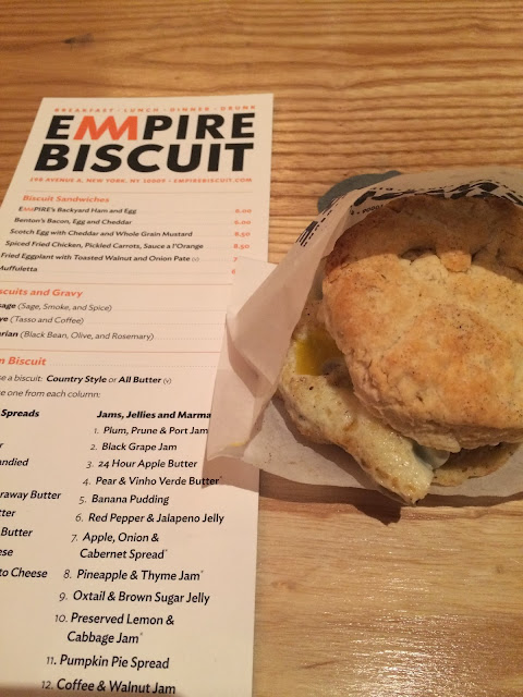 NYC, 24 hours, southern, sweet tea, empire biscuit, Christopher Stewart