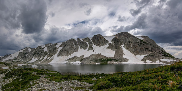 South Gap Lake in the Medicine Bow National Forest of Wyoming