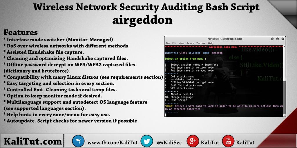 hack wifi password using kali linux vmware