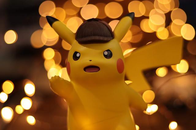 Figura del detective Pikachu