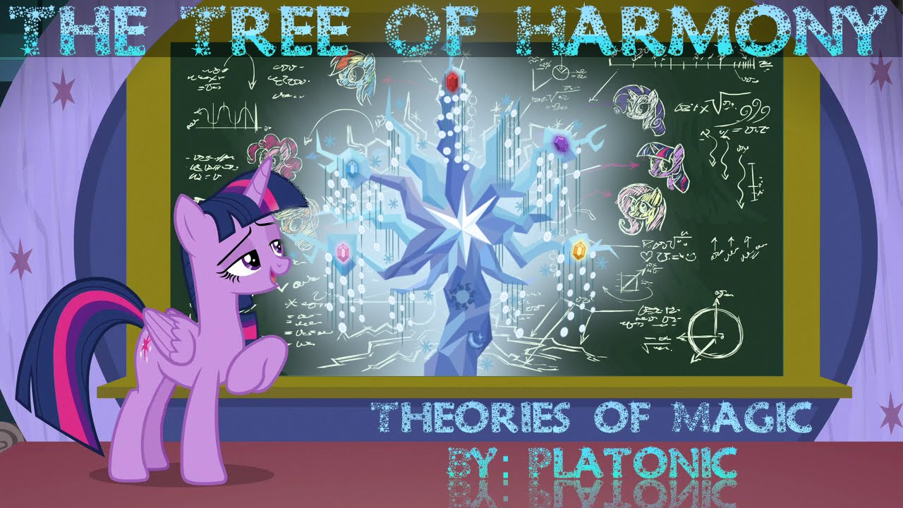 Equestria Daily Mlp Stuff Editorial Theories Of Magic Tree Of