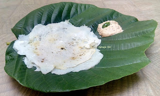 Tender coconut Dosa