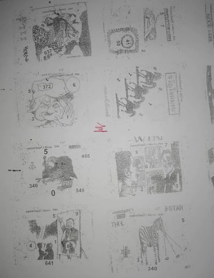 Thai Lottery 2nd Papers MAGAZINE Tips 01 October 2018