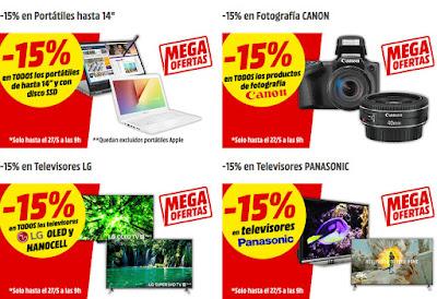 Mejores Mega Ofertas de Media Markt