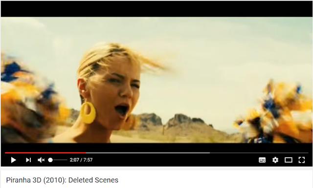 PT: Ashlynn Brooke, líder de torcida em um carro, cena de seios nus do filme Piranha 3D, 2010, cena censurada / apagada. EN: Ashlynn Brooke, cheerleader in a car, nude breasts scene in the movie Piranha 3D, 2010, censored / deleted scene. ES: Ashlynn Brooke, animadora en un coche, escena de seños desnudos de la película Piraña 3D, 2010, escena censurada / borrada. IT: Ashlynn Brooke, ragazza pon pon in una macchina, scena di seni nudi del film Piranha 3D, 2010, scena censurata / eliminata. FR: Ashlynn Brooke, pom-pom girl dans une voiture, scène de seins nus dans le film Piranha 3D, 2010, scène censuré / supprimé.