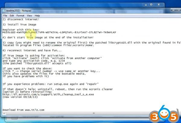 How to install Volvo PTT 2 03 U Disk for VOCOM - obd365