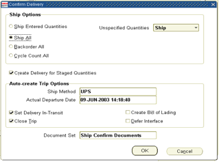 Oracle e-business INTERNAL SALES ORDERS : CREATION TO