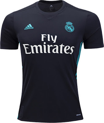 Adidas Real Madrid Away Jersey 17-18